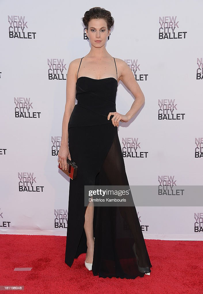 Elettra Rossellini-Wiedemann attends New York City Ballet 2013 Fall Gala at David H. Koch Theater, Lincoln Center on September 19, 2013 in New York City.