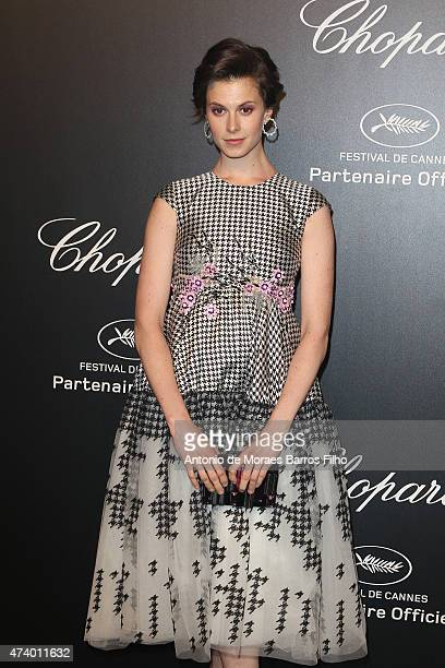 Elettra Wiedemann attends a celebrity party during the 68th annual Cannes Film Festival on May 18 2015 in Cannes France