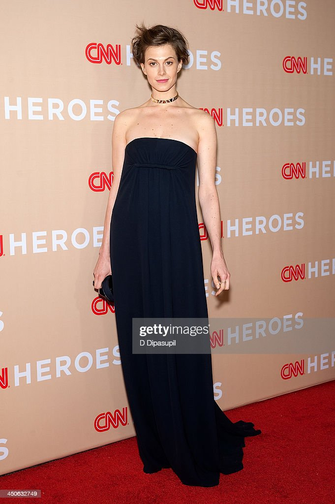 Elettra Wiedemann attends the 2013 CNN Heroes at the American Museum of Natural History on November 19, 2013 in New York City.