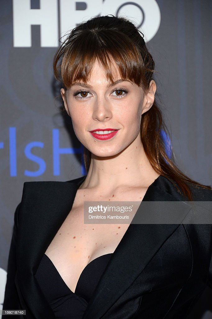 Elettra Wiedemann attends the HBO premiere of 'Girls' Season 2 at the NYU Skirball Center on January 9, 2013 in New York City.