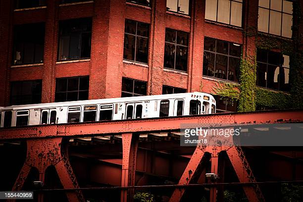 Elevated Train - Chicago