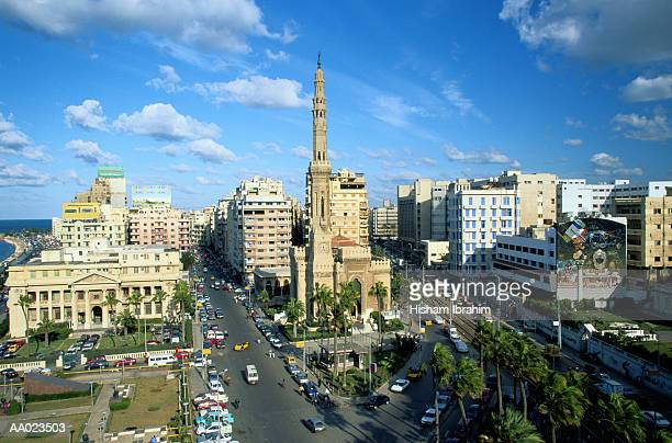 Elevated View of Alexandria, Egypt