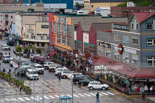 Elevated view of Ketchikan Alaska