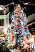 Singapore Chinatown night market during Chinese New Year