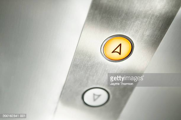 Elevator buttons, close-up