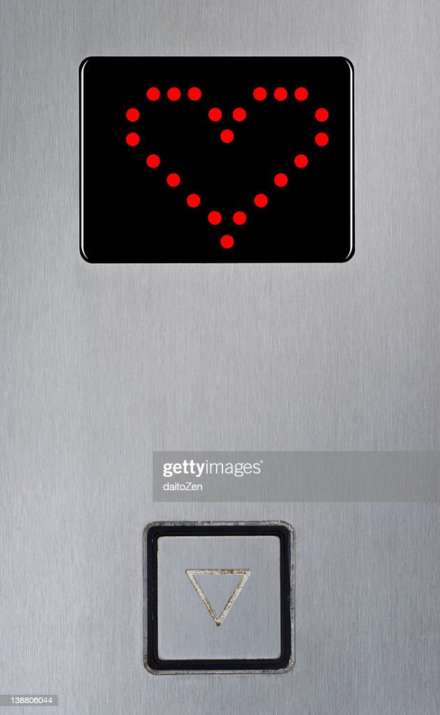 Elevator display : Stock Photo