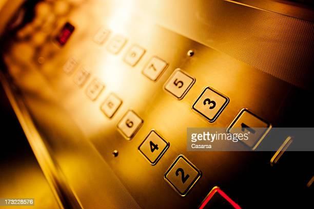 Aufzug der Tastatur