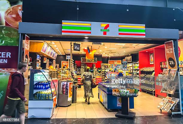 7 Eleven Store inside Oslo Central Train Station, Norway