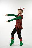 Elf Holding Something