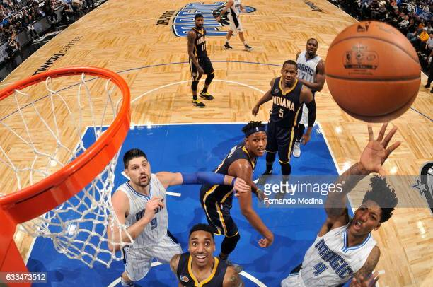 Elfrid Payton of the Orlando Magic shoots the ball against the Indiana Pacers on February 1 2017 at Amway Center in Orlando Florida NOTE TO USER User...
