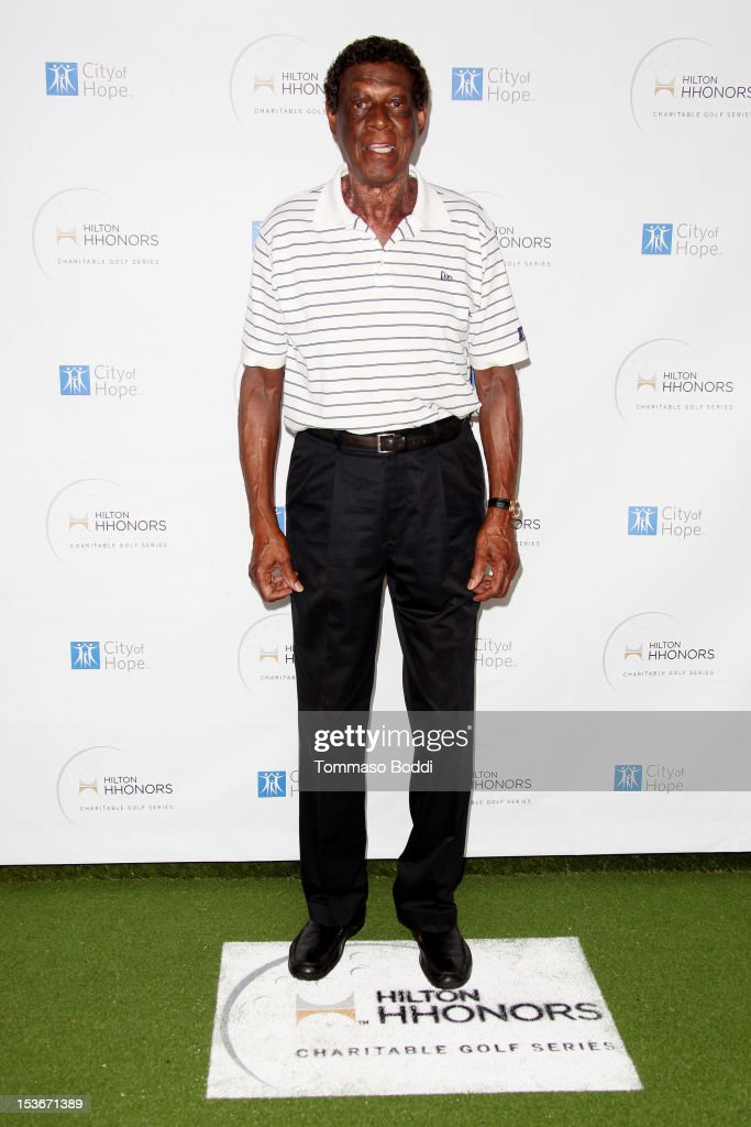 Elgin Baylor attends the 6th Annual Hilton HHonors Charitable Golf Series held at The Riviera Country Club on October 8, 2012 in Pacific Palisades, California.