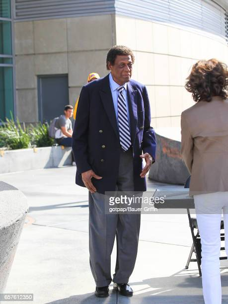 Elgin Baylor is seen on March 24 2017 in Los Angeles California