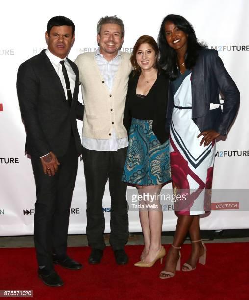 Elgin James Simon Lamb Rachel Miller Samata Narra at the Film2Future Year 2 Awards Ceremony on November 16 2017 in Los Angeles California