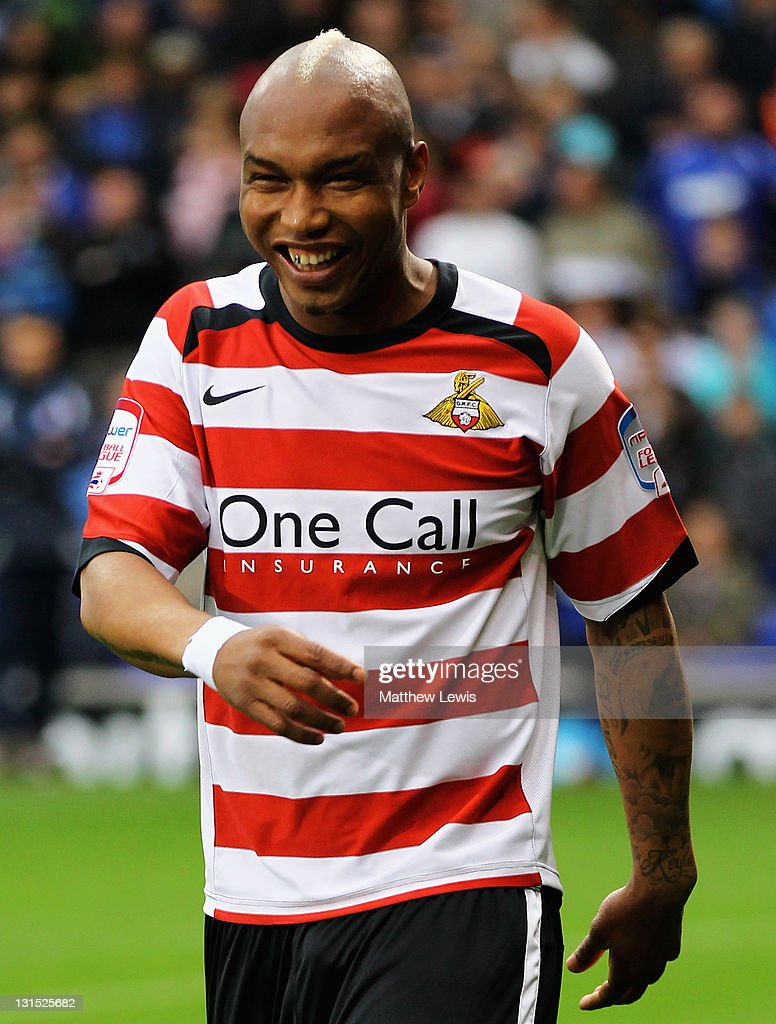 ElHadji Diouf of Doncaster Rovers looks on during the npower Championship match between Ipswich Town and Doncaster Rovers at Portman Road on November...