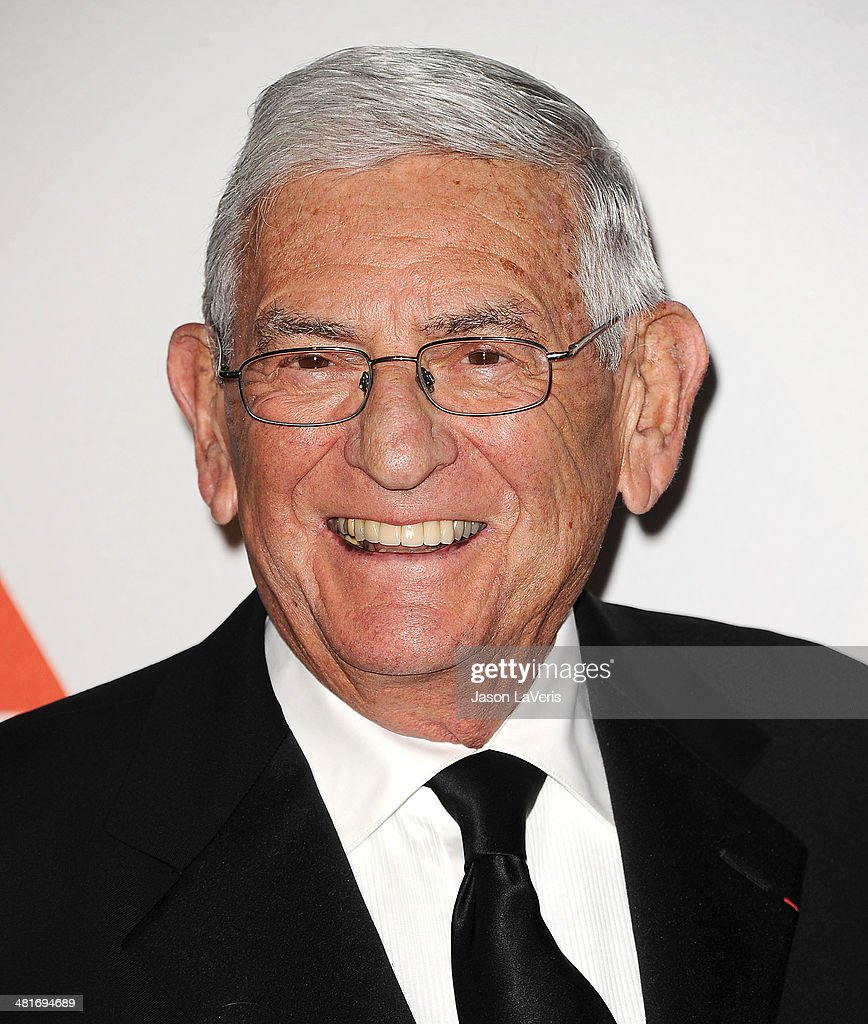 <a gi-track='captionPersonalityLinkClicked' href=/galleries/search?phrase=Eli+Broad&family=editorial&specificpeople=627780 ng-click='$event.stopPropagation()'>Eli Broad</a> attends the MOCA 35th anniversary gala celebration at The Geffen Contemporary at MOCA on March 29, 2014 in Los Angeles, California.