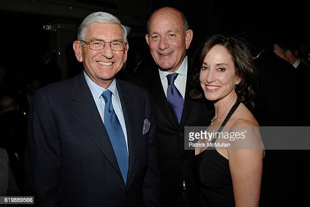 Eli Broad Bruce Karatz and Lilly Tartikoff attend GAGOSIAN GALLERY Private Dinner for JULIAN SCHNABEL at Mr Chow at Mr Chow on February 21 2008 in...