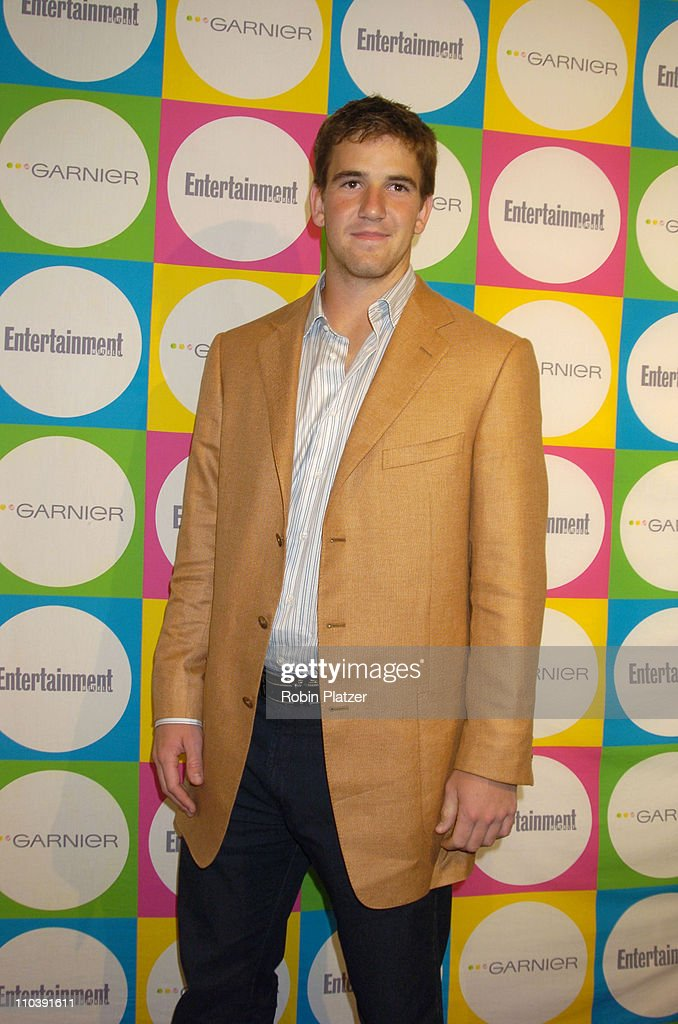<a gi-track='captionPersonalityLinkClicked' href=/galleries/search?phrase=Eli+Manning&family=editorial&specificpeople=202013 ng-click='$event.stopPropagation()'>Eli Manning</a> during The Entertainment Weekly 'Must List' Party - Arrivals at Deep in New York City, New York, United States.