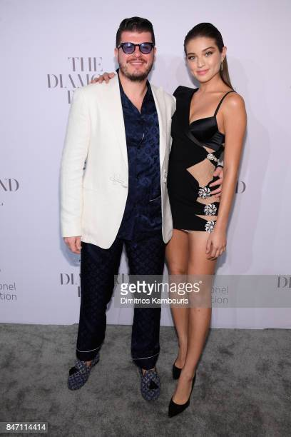 Eli Mizrahi and Daniela Lopez Osorio attend Rihanna's 3rd Annual Diamond Ball Benefitting The Clara Lionel Foundation at Cipriani Wall Street on...