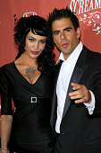 Eli Roth and Guest arrives at the 2007 Spike TV Scream Awards at The Greek Theater on October 19 2007 in Los Angeles California
