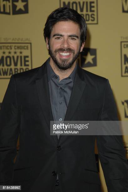 Eli Roth attends 2010 Critics Choice Awards at The Palladium on January 15 2010 in Hollywood California