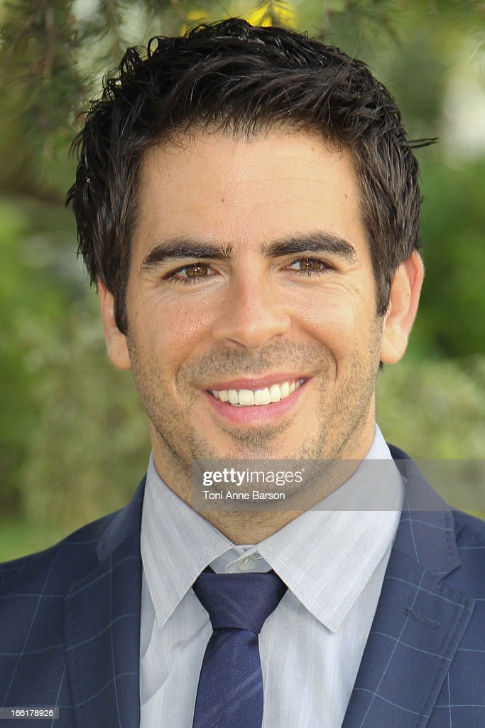 <a gi-track='captionPersonalityLinkClicked' href=/galleries/search?phrase=Eli+Roth&family=editorial&specificpeople=543948 ng-click='$event.stopPropagation()'>Eli Roth</a> attends 'Hemlock Grove' Photocall during MIPTV at the Majestic Hotel on April 9, 2013 in Cannes, France.