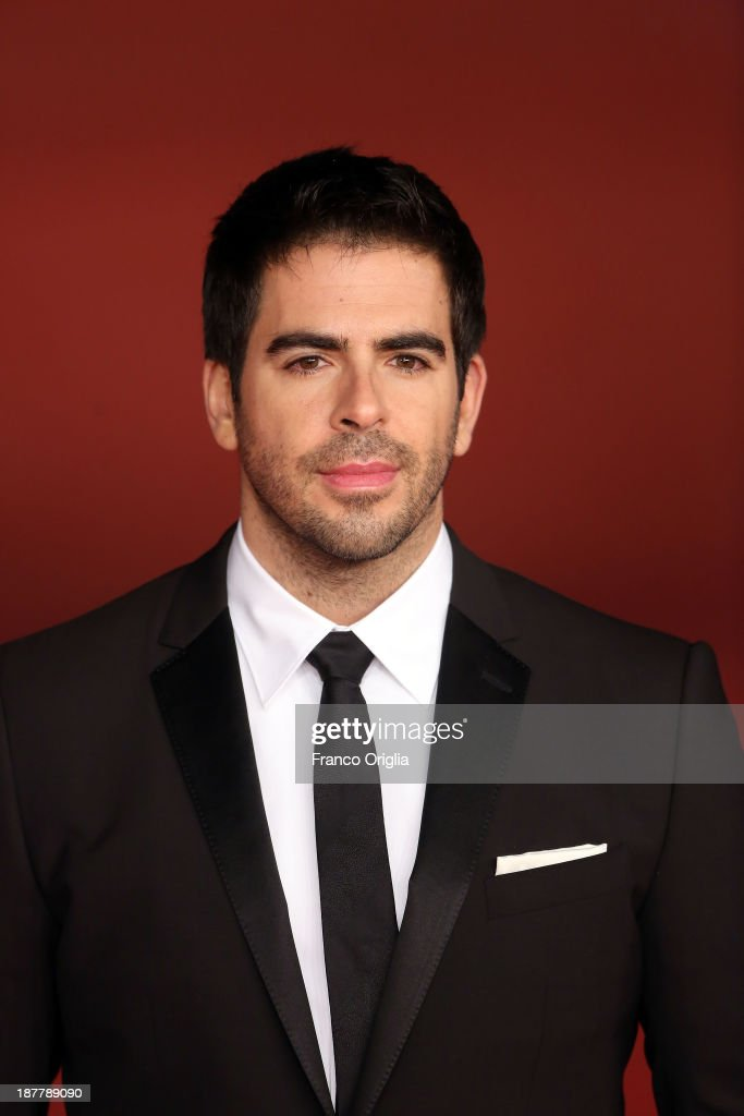 <a gi-track='captionPersonalityLinkClicked' href=/galleries/search?phrase=Eli+Roth&family=editorial&specificpeople=543948 ng-click='$event.stopPropagation()'>Eli Roth</a> attends 'The Green Inferno' Premiere during The 8th Rome Film Festival at Auditorium Parco Della Musica on November 12, 2013 in Rome, Italy.