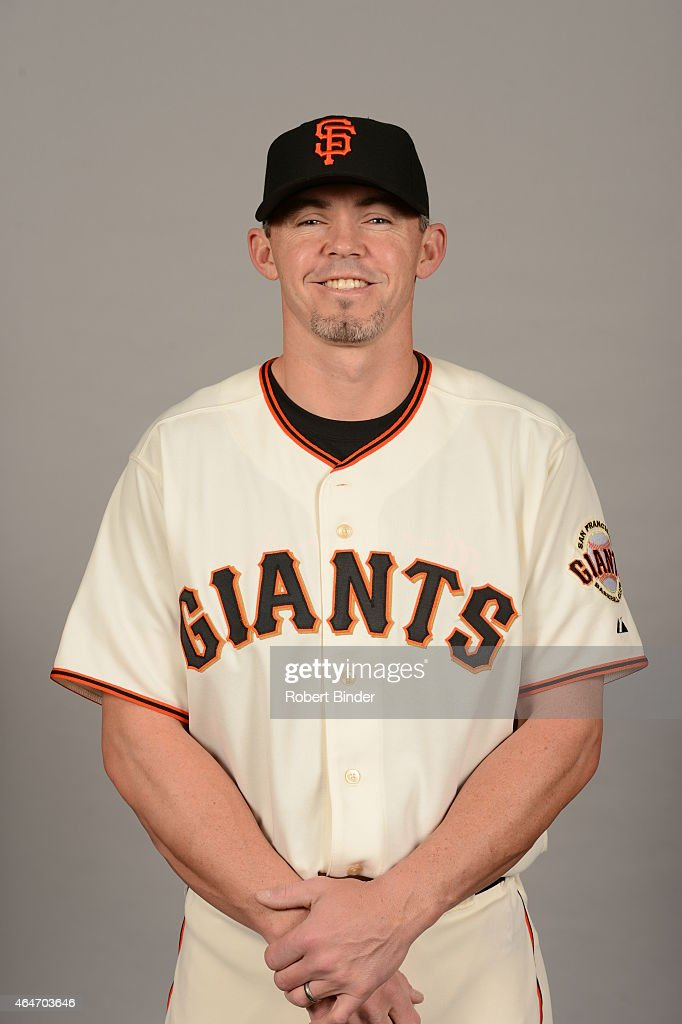 <a gi-track='captionPersonalityLinkClicked' href=/galleries/search?phrase=Eli+Whiteside&family=editorial&specificpeople=836374 ng-click='$event.stopPropagation()'>Eli Whiteside</a> #88 of the San Francisco Giants poses during Photo Day on Friday, February 27, 2015 at Scottsdale Stadium in Scottsdale, Arizona.