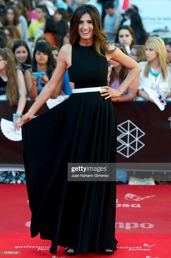 Elia Galera attends 16 Malaga Film Festival ceremony at Teatro Cervantes on April 27, 2013 in Malaga, Spain.