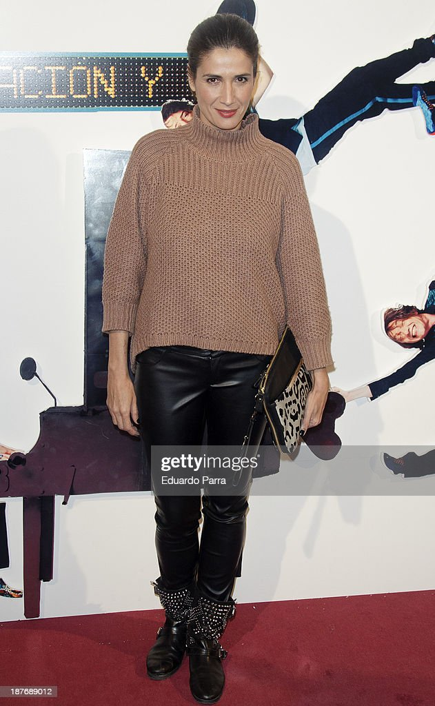 Elia Galera attends Alex O'Dogherty new album presentation party photocall at La Latina theatre on November 11, 2013 in Madrid, Spain.
