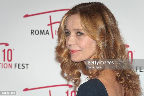 Eliana Miglio attend at the Red Carpet of 'In art Nino' presented at the Roma Fiction Fest 2016