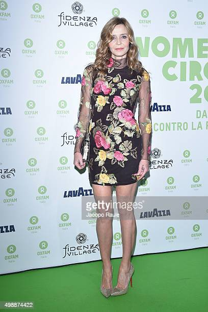 Eliana Miglio attends a photocall for Women's Circle 2015 OXFAM Charity Benefit on November 26 2015 in Milan Italy