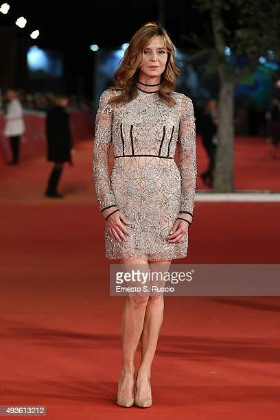 Eliana Miglio attends a red carpet for 'Dobbiamo Parlare' during the 10th Rome Film Fest on October 21 2015 in Rome Italy