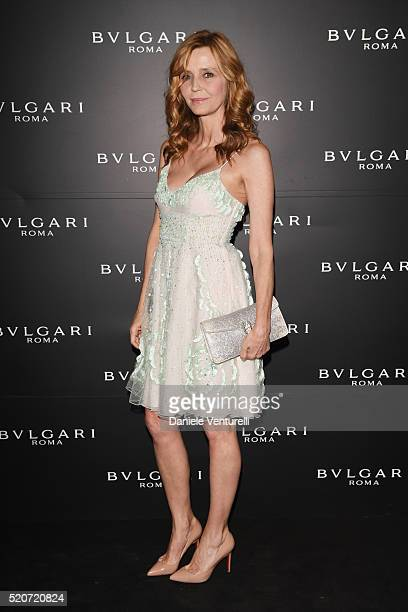 Eliana Miglio attends BVLGARI Celebration of BZero1 At Milan Design Week at Hotel Bulgari on April 12 2016 in Milan Italy