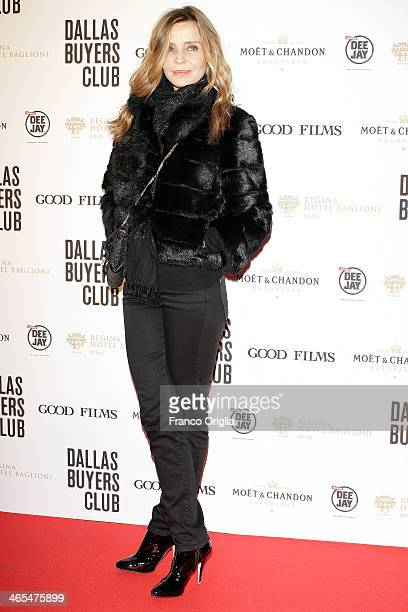 Eliana Miglio attends the 'Dallas Buyers Club' Rome Premiere on January 27 2014 in Rome Italy