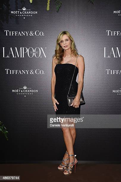 Eliana Miglio attends the Lampoon Gala during the 72nd Venice Film Festival at Palazzo Pisani Moretta on September 3 2015 in Venice Italy