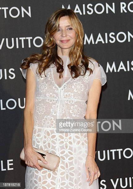 Eliana Miglio attends the 'Maison Louis Vuitton Roma Etoile' Opening Party on January 27 2012 in Rome Italy