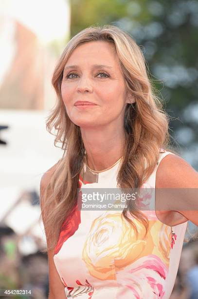 Eliana Miglio attends the Opening Ceremony and 'Birdman' premiere during the 71st Venice Film Festival at Palazzo Del Cinema on August 27 2014 in...
