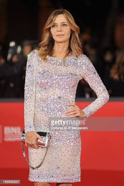 Eliana Miglio attends the Opening Night and 'Waiting For The Sea' Premiere during the 7th Rome Film Festival at the Auditorium Parco Della Musica on...