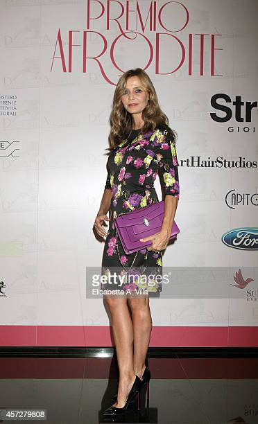 Eliana Miglio attends the Premio Afrodite 2014 at Capitol Club on October 15 2014 in Rome Italy