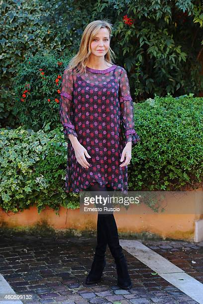 Eliana Miglio attends the 'Solo Per Amore' TV movie photocall at Mediaset Studios on December 17 2014 in Rome Italy