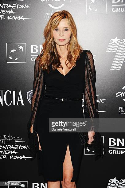Eliana Miglio attends the Telethon Gala during the 6th International Rome Film Festival at the Casina Valadier on October 28 2011 in Rome Italy