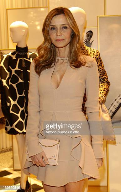 Eliana Miglio attends the Valentino Flagship Store Opening during Milan Womenswear Fashion Week on February 23 2012 in Milan Italy