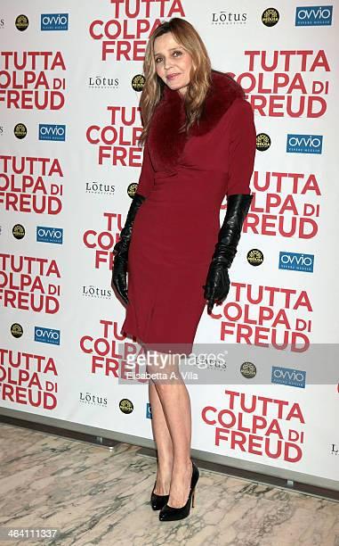 Eliana Miglio attends 'Tutta colpa di Freud' premiere at Teatro dell'Opera on January 20 2014 in Rome Italy