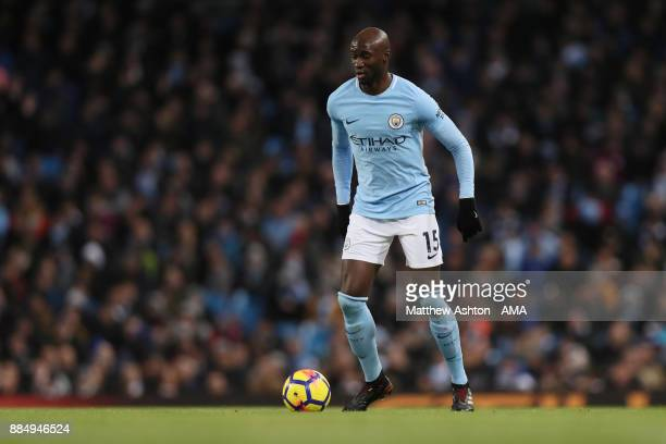 Eliaquim Mangala of Manchester City during the Premier League match between Manchester City and West Ham United at Etihad Stadium on December 3 2017...