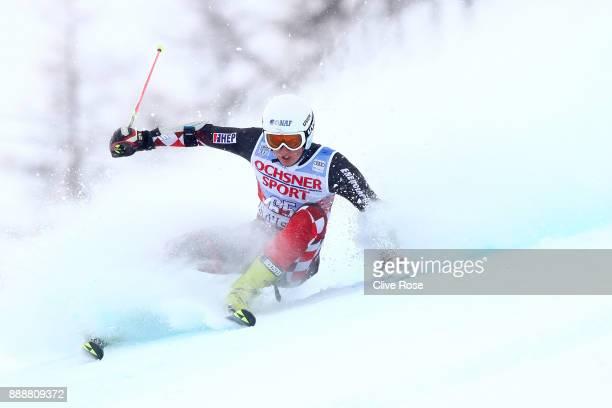 Elias Kolega of Croatia in action during the Audi FIS Alpine Ski World Cup Men's Giant Slalom on December 9 2017 in Vald'Isere France