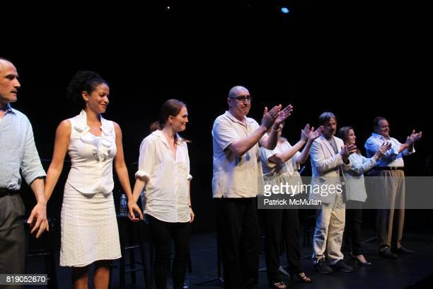 Elias Koteas Gloria Reuben Juliane Moore Alfred Molina Meryl Streep Viggo Mortensen Debra Winger and Paul Sorvino attend THE PUBLIC THEATRE Presents...