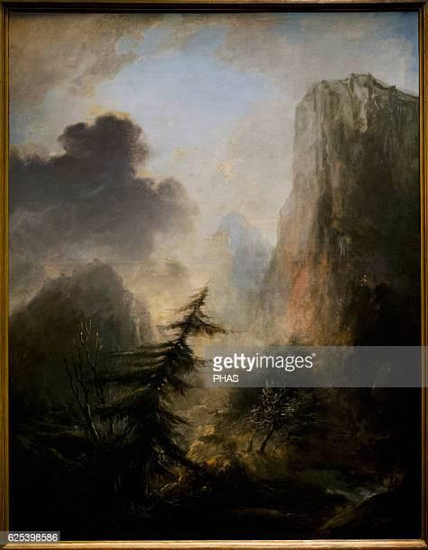 Elias Martin Swedish painter Landscape with Spruce c1780 National Museum Stockholm Sweden