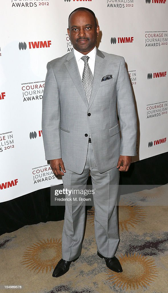 Elias Wondimu attends the 2012 International Women's Media Foundation's Courage In Journalism Awards at The Beverly Hills Hotel on October 29, 2012 in Beverly Hills, California.