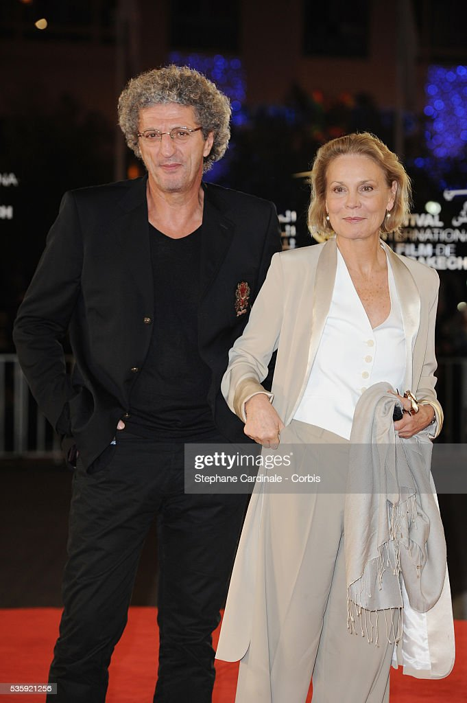 Elie Chouraqui and Marthe Keller attend the Short Films Award Ceremony, during the10th Marrakech Film Festival, in Marrakech.