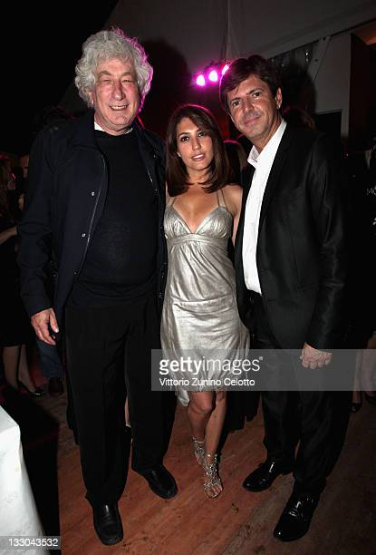 Elie Chouraqui Arianna and Lancia Fiat CEO Olivier Francois attend the 'This Must Be The Place' party hosted by Lancia during the 64th Cannes Film...